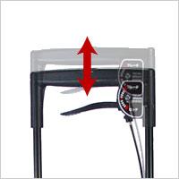 メロディプリモ 横押しカートの説明