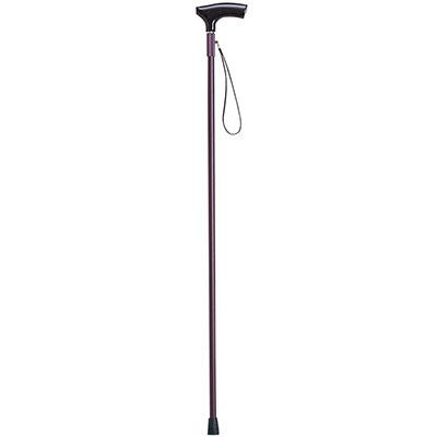 楓軽合金 L型(細型)WS-03 一本杖 長さ85cm 対応身長約166cm の説明