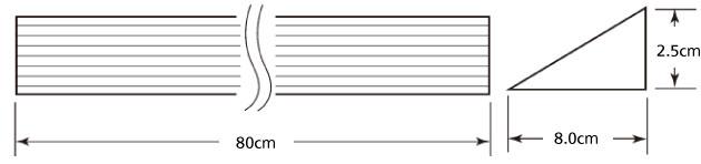 天然木 段差スロープZW-509 250 幅8×高さ2.5×長さ80cmの説明