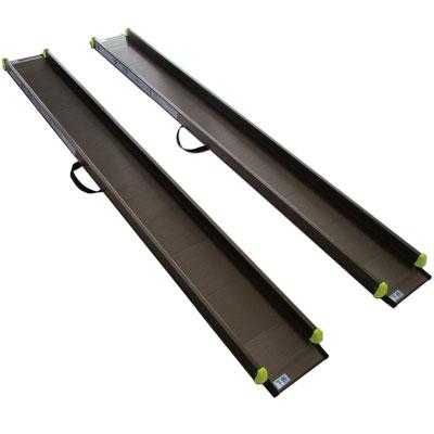 段差解消 軽々スロープ 2本1組 SS200 長さ200cm