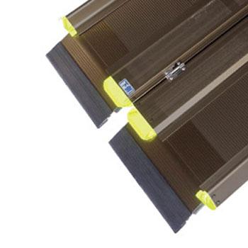 軽々スロープ エコノミー SL 200(長さ200cm) 車椅子用段差解消スロープ