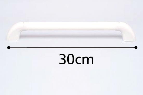 ユニット・タイル張り兼用 浴室手すり径32 I型 300mmのカラー(色)