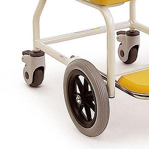 簡易シャワー車いすKSC-1 4輪キャスター