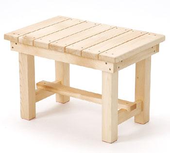 木製移乗台-すべり止め付