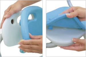 シャワーチェアー テイコブSC01の説明