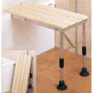 ひのき入浴台 折りたたみ式