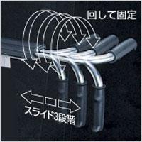 シャワーキャリーAE-LPG 前輪樹脂ダブルロックキャスターの説明