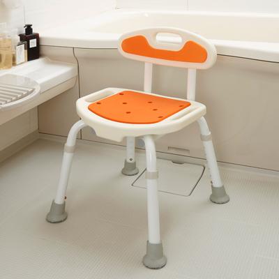 福浴コンパクトシャワーチェア 背もたれ付き