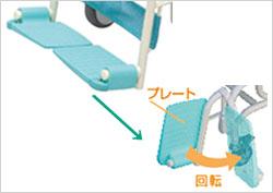 シャワーキャリー ラージキャスター サイサポートタイプ CAK-310S/CAK-310SF お風呂用車椅子 お風呂用車椅子