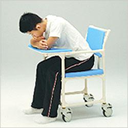 シャワーキャリー フロントレストタイプ アルミ製 CAK-600 お風呂・トイレ用車椅子の説明