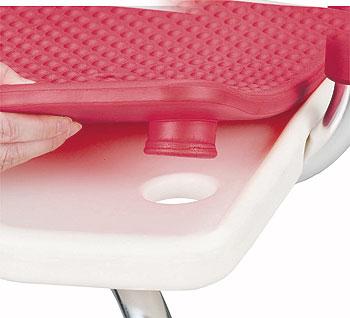 愛ふるシャワーベンチ U字型タイプ 背付き介護用風呂椅子