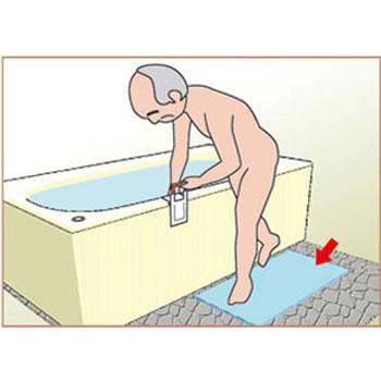 浴室すべり止めマット ダイヤタッチハイ 防カビ加工