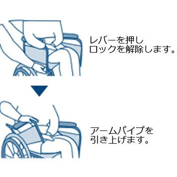 お風呂用車椅子・シャワーキャリー フローラ介助 MH-2