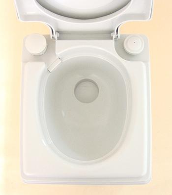 ビザ・ポータブル水洗トイレ potty(ポッティー) 24Lタイプ 便器部分