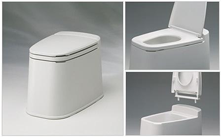 リフォームトイレ和風式 和式を洋式にする便器の説明
