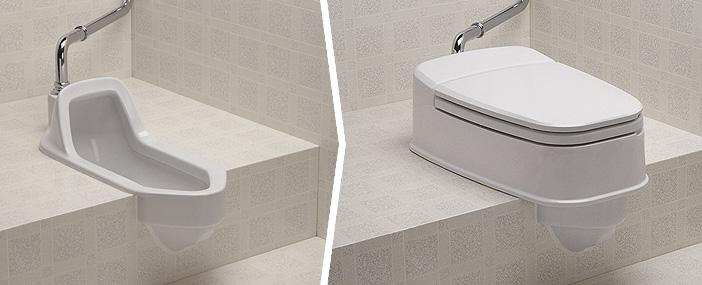 リフォームトイレ両用式 和式を洋式にする便器