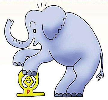 象が乗っても底づきしない