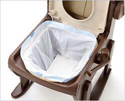 トイレ処理・汚物処理袋 ラクリーンバッグN 抗菌プラス 2箱セット