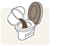ポータブルトイレ用消臭パウダー よかレットパウダー 30枚入り×4箱