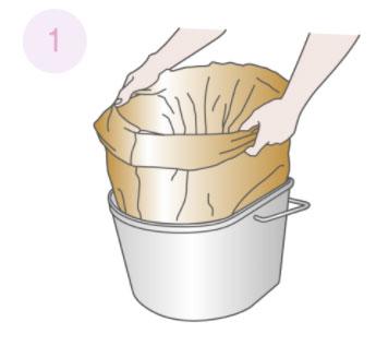 ワンズケア 長時間用トイレ処理袋 1ケース(20枚入り×10個) ポータブルトイレ専用排せつ処理袋の説明