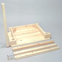 ひのきのテーブル(机・つくえ) 組立式