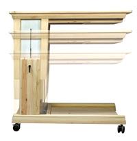 フレックステーブル(机・つくえ) 無段階調節