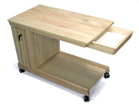 フレックステーブル(机・つくえ) 収納引き出し