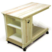 フレックステーブル(机・つくえ) 収納棚