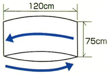 移乗サポート 移座えもんシート MLサイズ(75×120cm)の説明