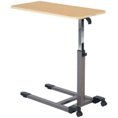 コイズミ ガス圧式昇降テーブル KXT-108 NS ベッドサイドテーブル