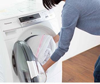 カバーは洗濯機で
