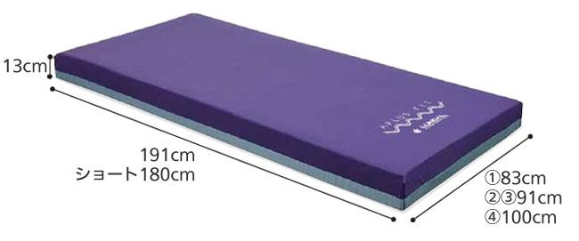 APLUS FIT アプラスフィット 防水タイプ 介護マットレスのサイズ
