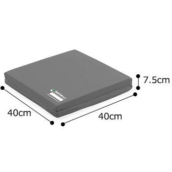 MEDケアクッション スーパーソフトタイプ 120044 体圧分散 テンピュールクッション・座布団のサイズ