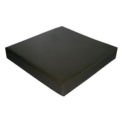 ウェルファン 2層クッション 夢ごこち 合皮レザータイプ クッション・座布団