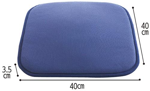ピュアライフエアークッションTC100 ムレ防止・体圧分散・消臭効果クッション