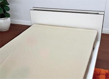 洗えるベッド用品3点セット ボックスシーツ2枚+ベッドパッド 介護ベッドサイズの説明