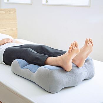 のびのび腰痛対策脚クッションの説明