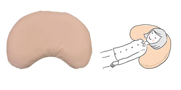 体圧分散・体位変換クッション ふわ・もライト みかづき大の説明