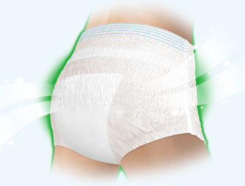 ライフリー 超うす型下着感覚パンツ 1ケース(3袋)吸水量300cc 紙パンツ・大人用オムツの説明