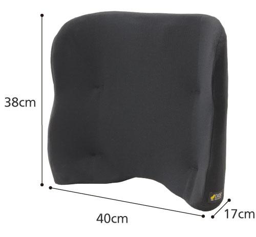 エクスジェルバッククッション ハイタイプ 車椅子用背クッションのサイズ