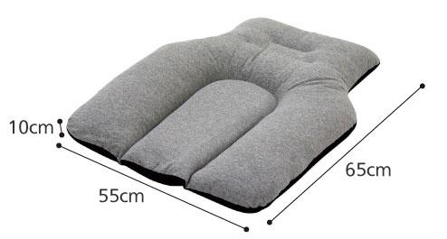 円背クッション 座位・寝姿勢用  のサイズ