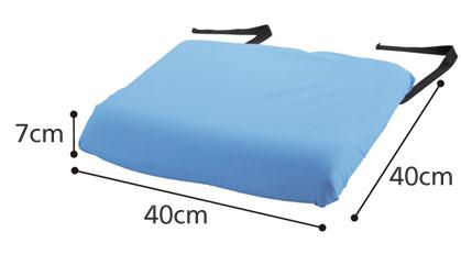 防水クッションカバー デニムタイプ1535 洗い替えに便利な2枚セットのサイズ