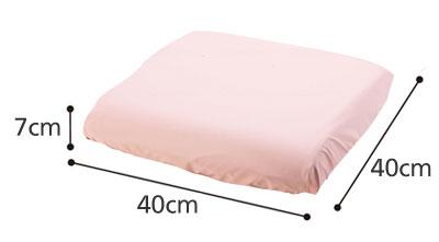 防水クッションカバー 拭き取りタイプ1537 洗い替えに便利な2枚セットのサイズ