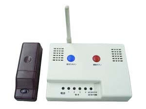 見守り・高齢者生活支援簡易システム 親子のドアシル 安否確認型基本セット LAN対応型 ドアセンサー