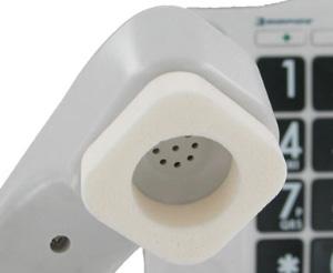 受話器用イヤーパッド ミミコンフォート JI-MMC 補聴器の方に