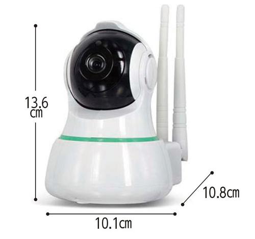 見守りカメラ スマ見え Wi-Fiホームカメラのサイズ