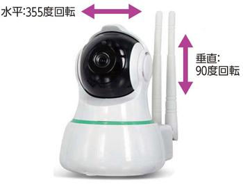 見守りカメラ スマ見え Wi-Fiホームカメラ