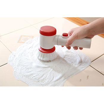 お掃除用 らくらくパワフル電動ブラシのサイズ