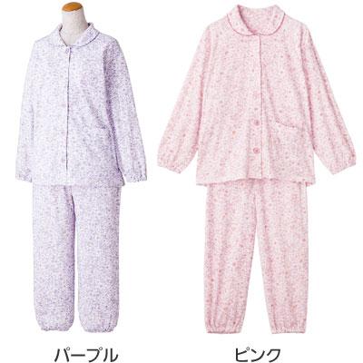 婦人 小柄な方におすすめ 大きめボタンプチサイズパジャマ M・Lサイズ 89775  のカラー