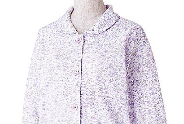 婦人 小柄な方におすすめ 大きめボタンプチサイズパジャマ M・Lサイズ 89775